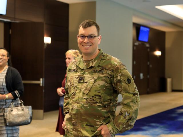 U.S. Army Captain Williams...